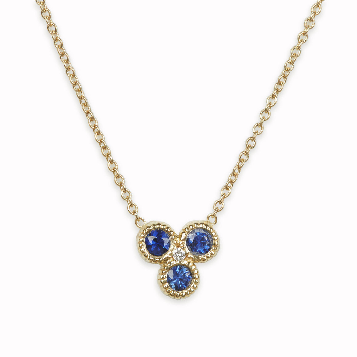 Nirvana Sapphire Necklace