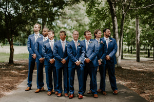 Ryan And Holly - Real Weddings by The Groomsman Suit