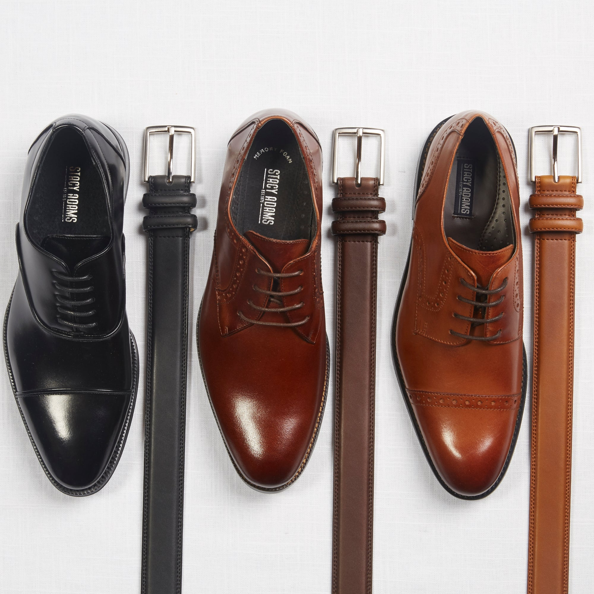 Brown or Black Shoes with Navy Suit