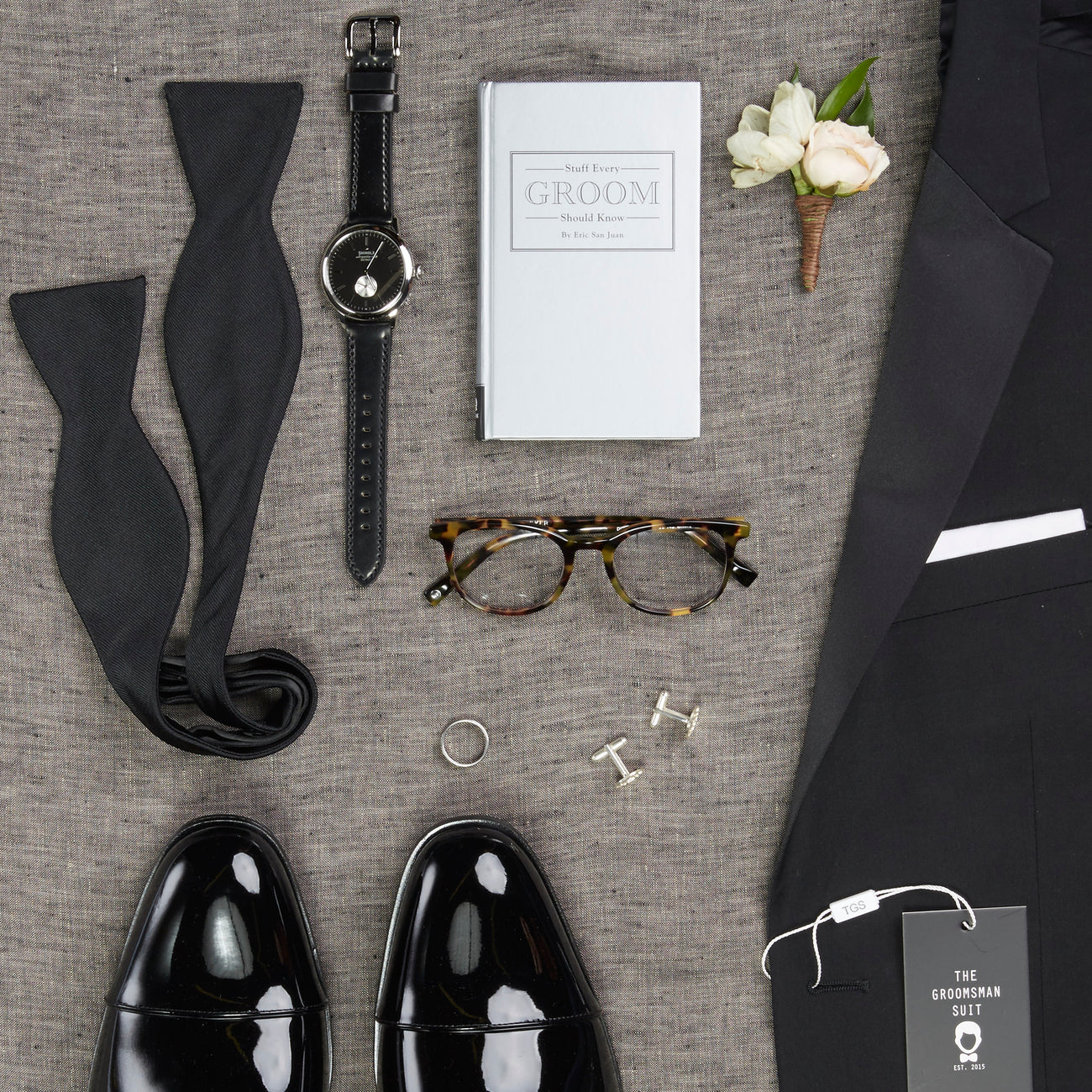 2dc18bfa1 The Ultimate Wedding Day Checklist for Grooms – The Groomsman Suit