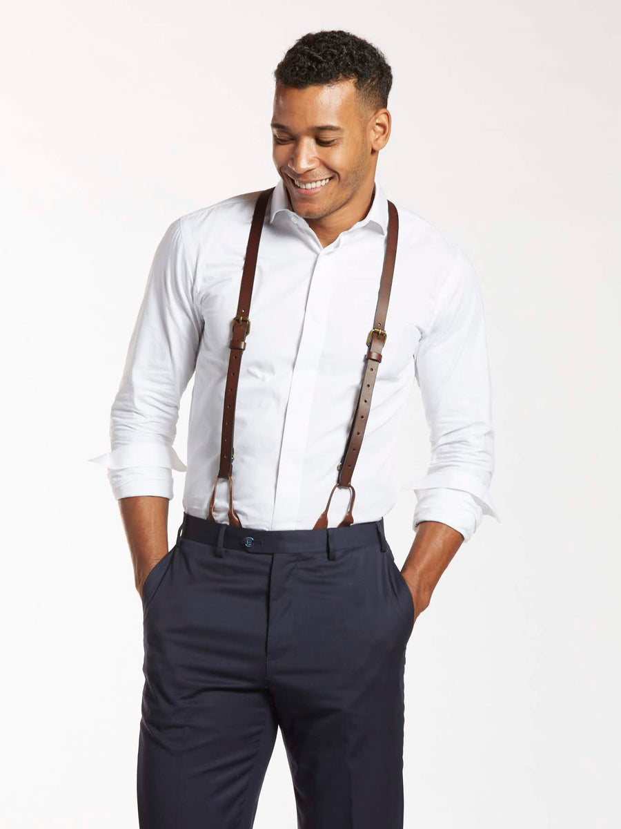 How to Style Suspenders For Men