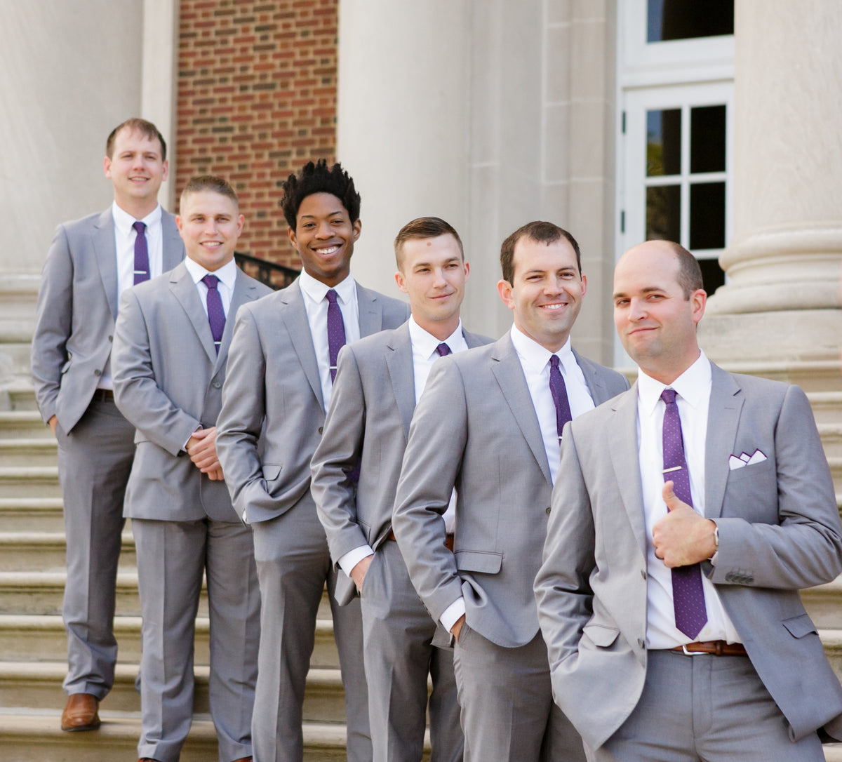 5 Reasons to Pick Grey Groomsmen Suits