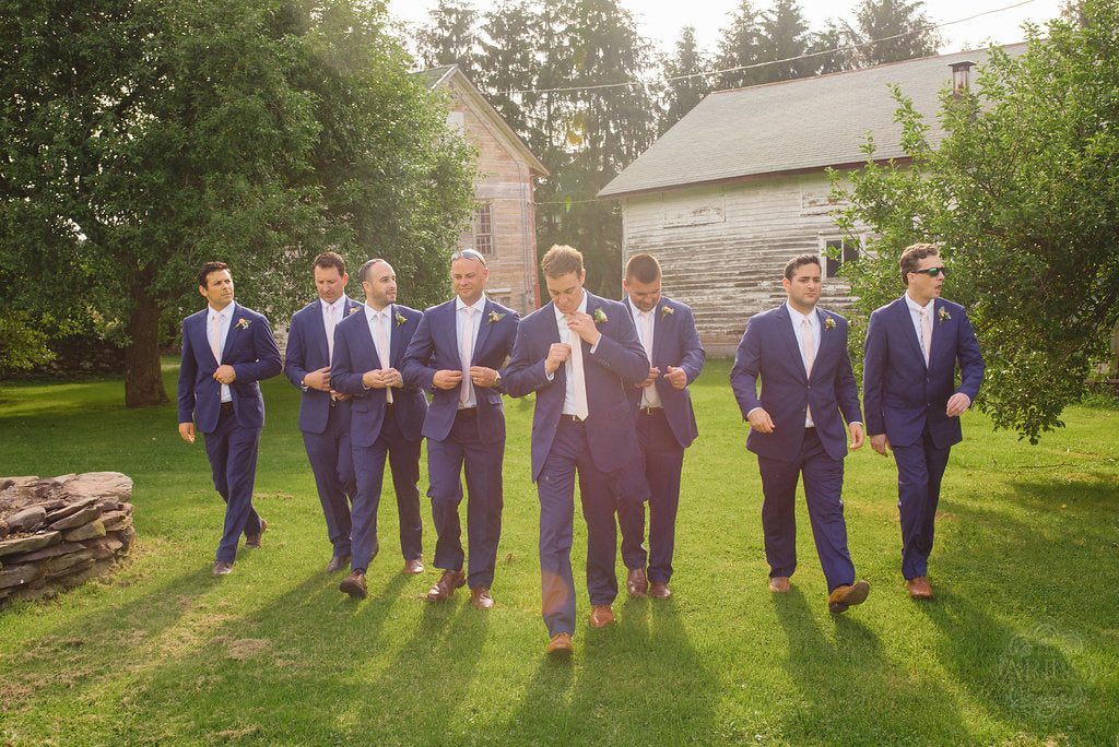 Jason and Wesley - Real Weddings by The Groomsman Suit