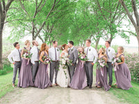 Brayton and Molly - Real Weddings by The Groomsman Suit