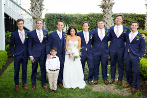 Connor and Savannah - Real Weddings by The Groomsman Suit