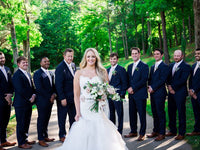 Graham and Lauren - Real Weddings by The Groomsman Suit