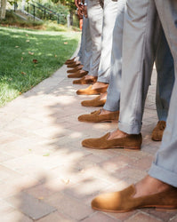 Barefoot at a beach wedding? Suited for Style - Q & A