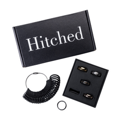 Introducing Hitched, the newest and best men's wedding band company!