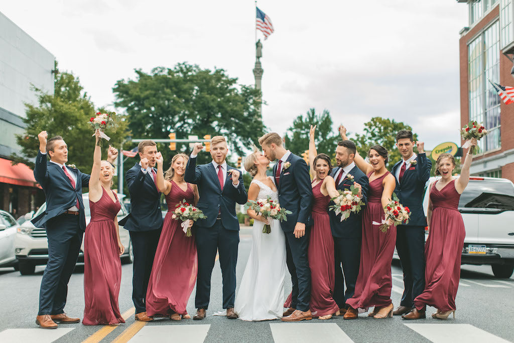 Galin and Kelly - Real Weddings by The Groomsman Suit