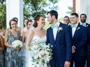 Jake and Rachel - Real Weddings by The Groomsman Suit