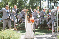 James and Dasha - Real Weddings by The Groomsman Suit