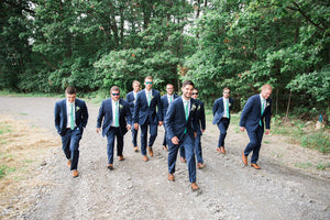Joe and Victoria - Real Weddings by The Groomsman Suit