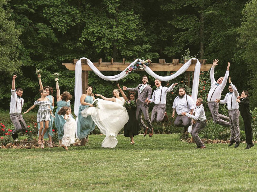 Rustic Country Wedding Style for Groomsmen