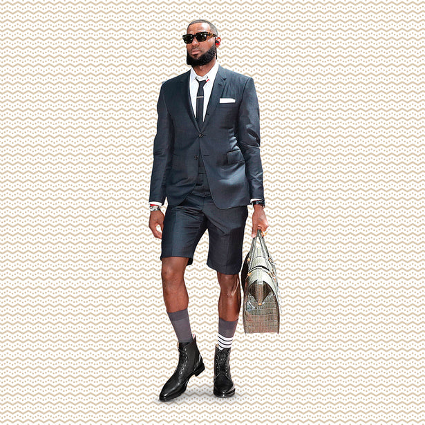 Lebron James Thom Browne Shorts Suit