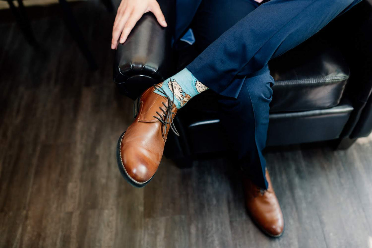 Wedding Shoe and Sock Style For Men
