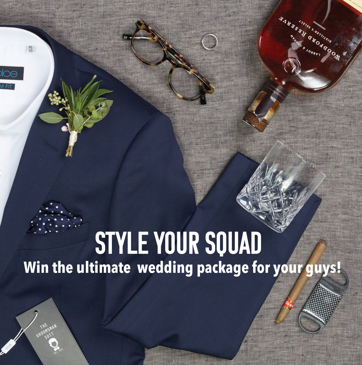 Wedding Giveaway: Enter to win men's wedding attire, groomsmen gifts, and more!