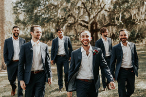 Sebastian and Claudia - Real Weddings by The Groomsman Suit