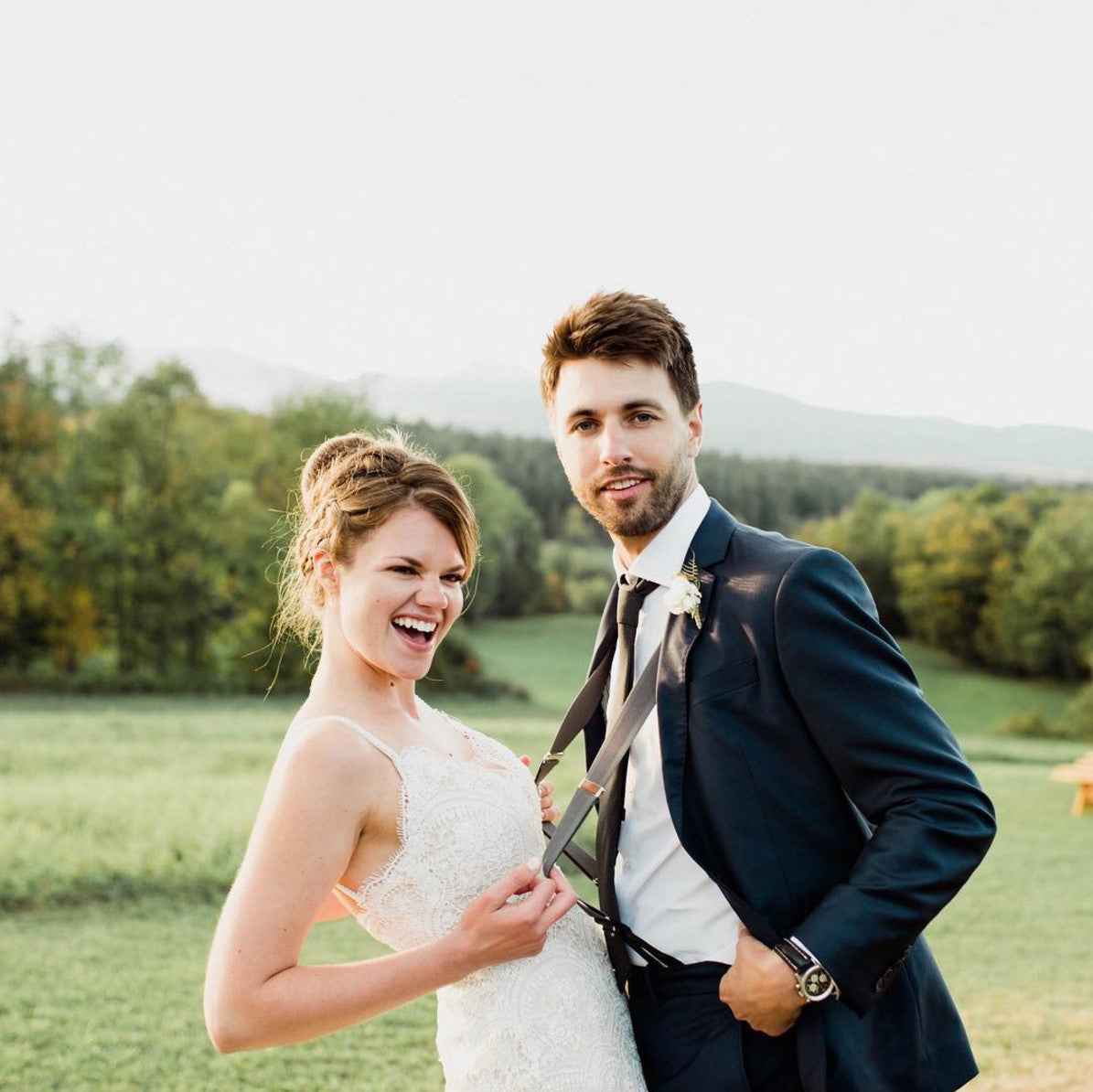 Add Suspenders To Your Wedding Style! – The Groomsman Suit