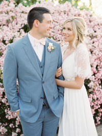 Carter And Amanda - Real Weddings by The Groomsman Suit