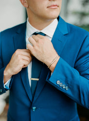 Men's Jewelry for the Wedding Day? Suited for Style - Q & A