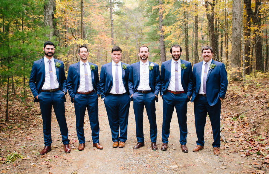 Blue Wedding Suits