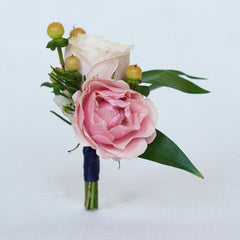 Spring Wedding Ideas: Blush Pink Boutonniere