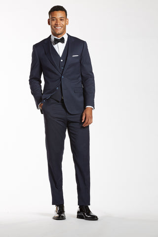 The Brown Vs. Black Shoe Debate With Navy Suiting – The Groomsman Suit
