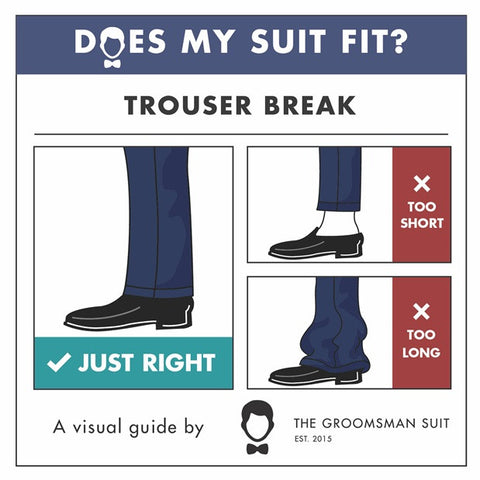 Wedding Suit Fit Guide_Perfect Pant Length