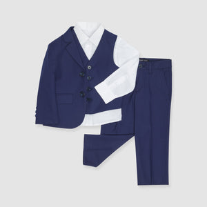 The Groomsman Suit - Brilliant Blue Boy's Suit