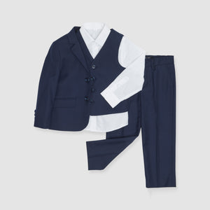 The Groomsman Suit - Classic Navy Boy's Suit