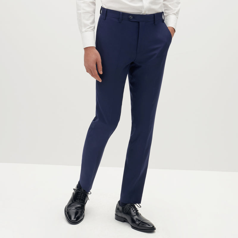 Brilliant Blue Suit Pants