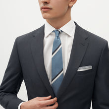 Load image into Gallery viewer, Charcoal Gray Suit Jacket