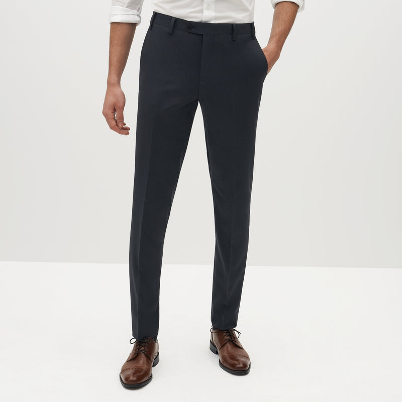 Charcoal Gray Suit Pants