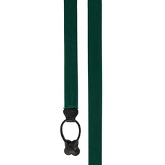 Grosgrain Solid Hunter Suspenders