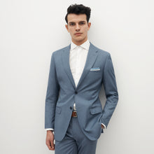 Load image into Gallery viewer, Light Blue Suit Jacket