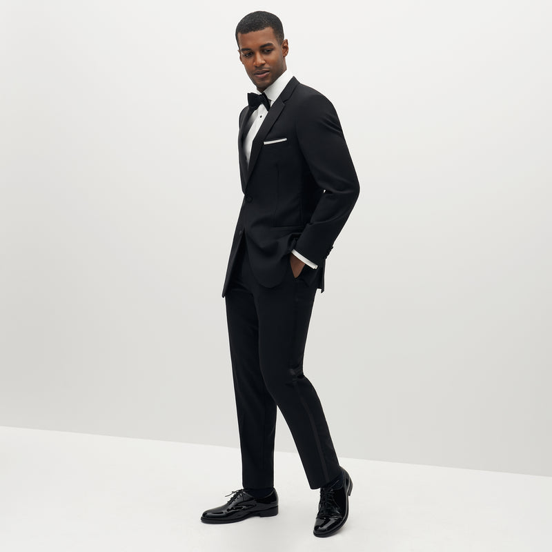 Premium Notch Lapel Black Tuxedo Jacket