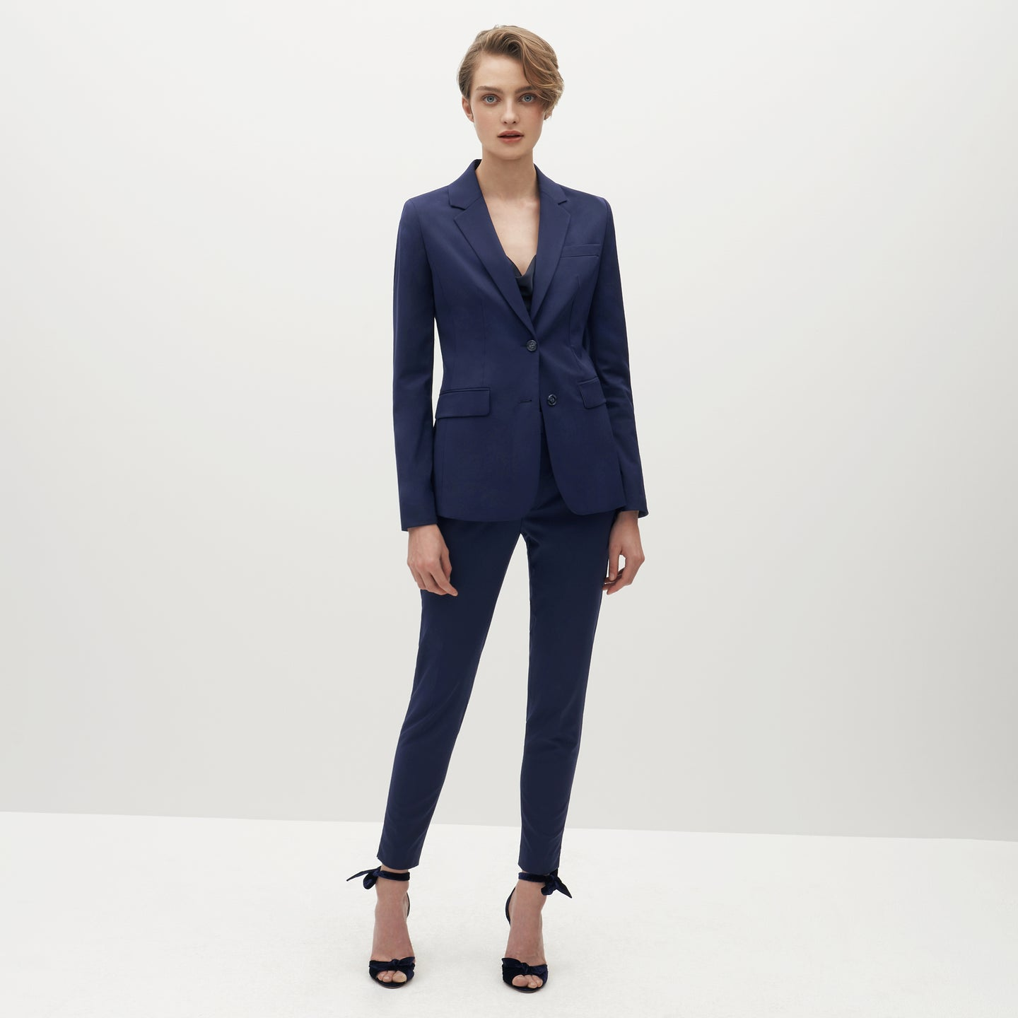 Women's Brilliant Blue Suit Pants