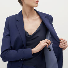 Load image into Gallery viewer, Women's Brilliant Blue Suit Jacket