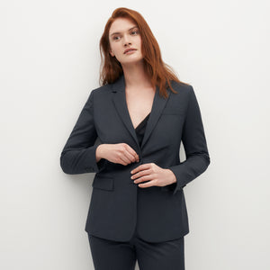 Women's Charcoal Gray Suit Jacket