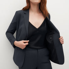 Load image into Gallery viewer, Women's Charcoal Gray Suit Jacket