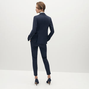 Women's Navy Blue Suit Jacket