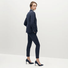 Load image into Gallery viewer, Women's Navy Blue Suit Jacket