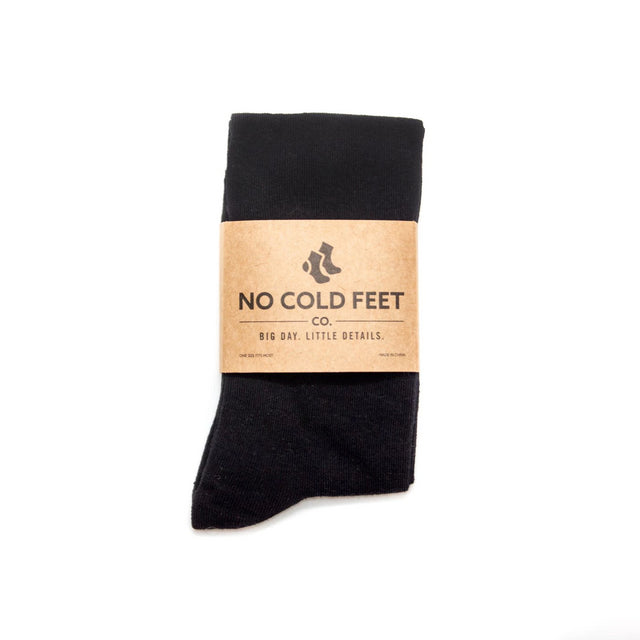 No Cold Feet Wedding Socks