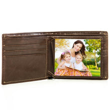 Load image into Gallery viewer, Personalized Leather Wallet