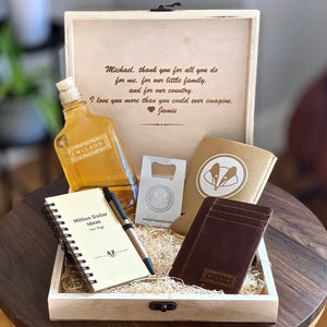 Personalized Rustic Gift Set