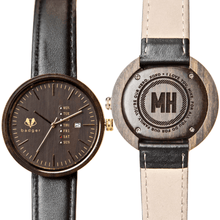 Load image into Gallery viewer, Personalized Sandalwood Black Watch