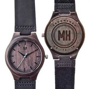 Personalized Sandalwood Classic Watch