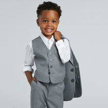Load image into Gallery viewer, Textured Gray Boy's Suit