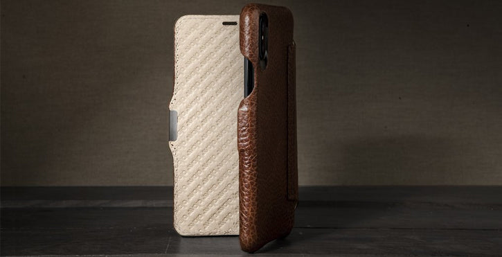 Vaja´s Premium selection of iPhone X leather cases