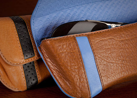Premium Leather Eyeglass Case